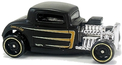 32 Ford - Carrinho - Hot Wheels - ROD SQUAD -  4/10 - 102/250 - 2017 - MZ9C4