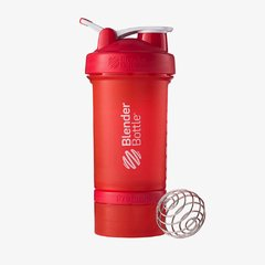 Blender Prostak FullColor - Blender Bottle - 450ml - Vermelha