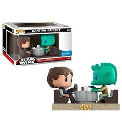 Han Solo e Greedo - Pop! Movie Moments - Funko - 223 - Star Wars - Cantina Faceoff