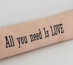 Almohadon XXL  ALL YOU NEED IS LOVE en internet
