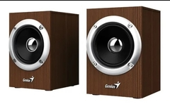 PARLANTE GENIUS USB WOODEN STEREO