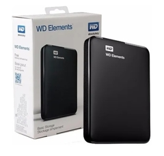 Disco Hd Externo Wd Elements 1tb Usb 3.0 - comprar online