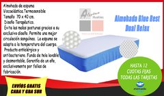 Almohada Blue Rest Dual Relax