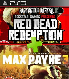 COMBO RED DEAD REDEMPTION - MAX PAYNE 3 -DIGITAL-