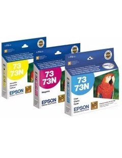 CARTUCHO ORIGINAL EPSON 73 COLOR 5ML