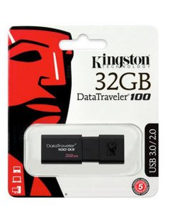 PENDRIVE KINGSTON 32GB 3.0 DT100