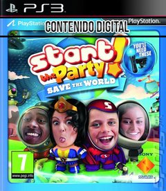 START THE PARTY SAVE THE WORLD -DIGITAL-