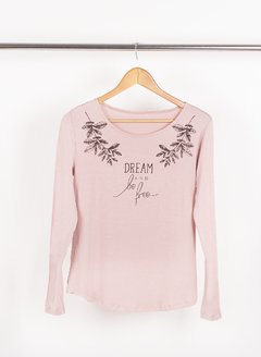 Remera Dream and Be Free 56281 en internet