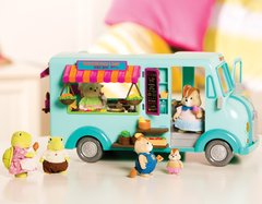 LI'L WOODZEEZ FOOD TRUCK - Tokema Toys