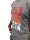 Remera Estampada WORK PLAY  #1871 GRIS OSCURO