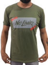 Remera Estampada NO LIMITS  #1877 VERDE