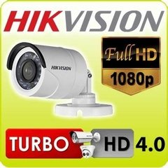 Camara Seguridad Hikvision DS-2CE16D0T-IRPF 2 Mp Full Hd 1080p Ip 66 Exterior