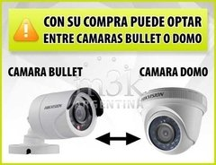 Kit Seguridad Hikvision Turbo 4.0 Dvr 8 + 4 Camaras 1080 2mp - comprar online