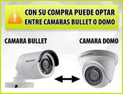 Kit Seguridad Hikvision Full Hd Lite Dvr 8 + 4 Camaras Audio - tienda online