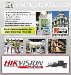 Nvr Ip Hikvision Ds-7608ni-e2/8p 8ch Poe Hd Tiempo Real - M3K ARGENTINA