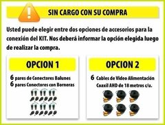Kit Seguridad Dahua Dvr 8 Full Hd 1080p + 6 Camaras 2mp Cctv - M3K ARGENTINA