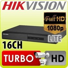 Dvr Hikvision 16ch 1080p Turbo Full Hd Lite Ds-7216hghi-f1/n