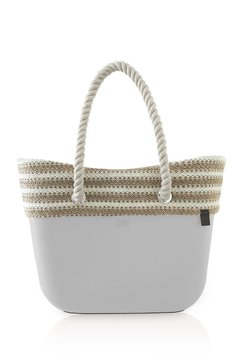 JOIN! HANDBAGS BOLSA CLASSIC BORDE YUTA BLANCO