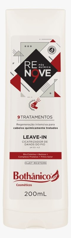 LEAVE IN RENOVE POS QUIMICA 200ML BOT HAIR