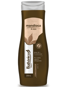 CD MANDIOCA E COCO 250ML BOT HAIR
