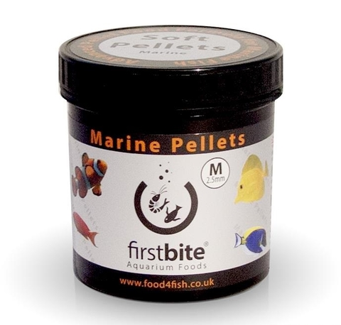 Ração BCUK First Marine Pellets 120g - 2,5 mm