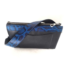 Carrie Shoulder Bag Negro C/ Azul