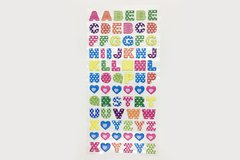 STICKERS RELIEVE LETRAS