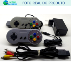 Imagem do CONSOLE SUPER NINTENDO - 2 CONTROLES