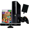 CONSOLE XBOX 360 SLIM + HD 500GB + KINECT