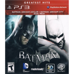 BATMAN ARKHAM DUAL PACK - PS3