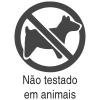 Produto Não testado em animais