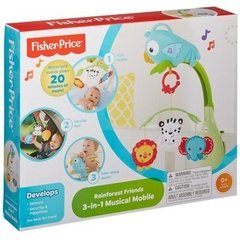 FISHER PRICE - Móvil Musical 3 en 1 Amigos de la Naturaleza en internet