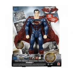 DC COMICS SUPERMAN C/LUZ Y SON.