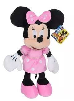 Minnie Mouse Peluche Original Disney Grande 80 Cm Wabro