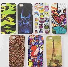 Capa Para Iphone 5 Case Kit Com 7 Capas