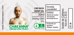 Chakanna Stress Less 300mg CBD