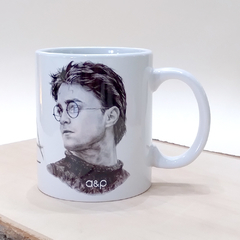 Caneca Harry Potter rabisco
