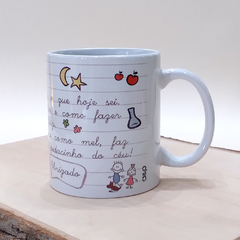 Caneca professora ABC na internet