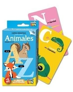 Naipes Educativos School Fun Animales De La A A La Z