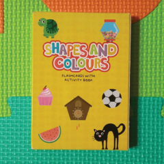 SHAPES AND COLOURS - FLASHCARDS WITH ACTIVITY BOOK
