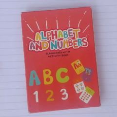 ALPHABET AND NUMBERS - FLASHCARDS WITH ACTIVITY BOOK
