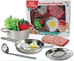 Set Cocina Infantil 10pcs Cookware Play Set