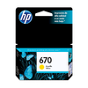 Cartucho Original HP 670 Amarillo