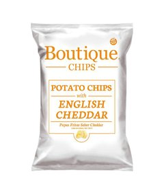 Boutique Chips English Cheddar 65g