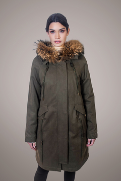 PARSONS Green Parka