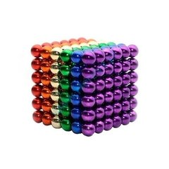 Bolitas Magneticas Multi Color 5mm Anti Stress Magnet Silver