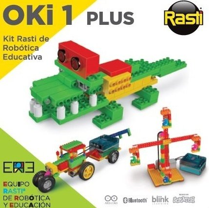 Oki 1 plus - Kit Rasti de Robótica Educativa